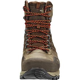The North Face Hedgehog Trek GTX Chaussures Homme, demitasse brown/tibetan orange